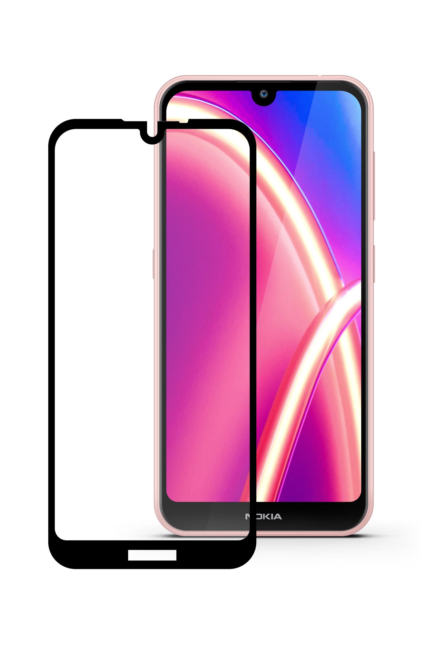 Защитное стекло Mobius Nokia 4.2, черный
