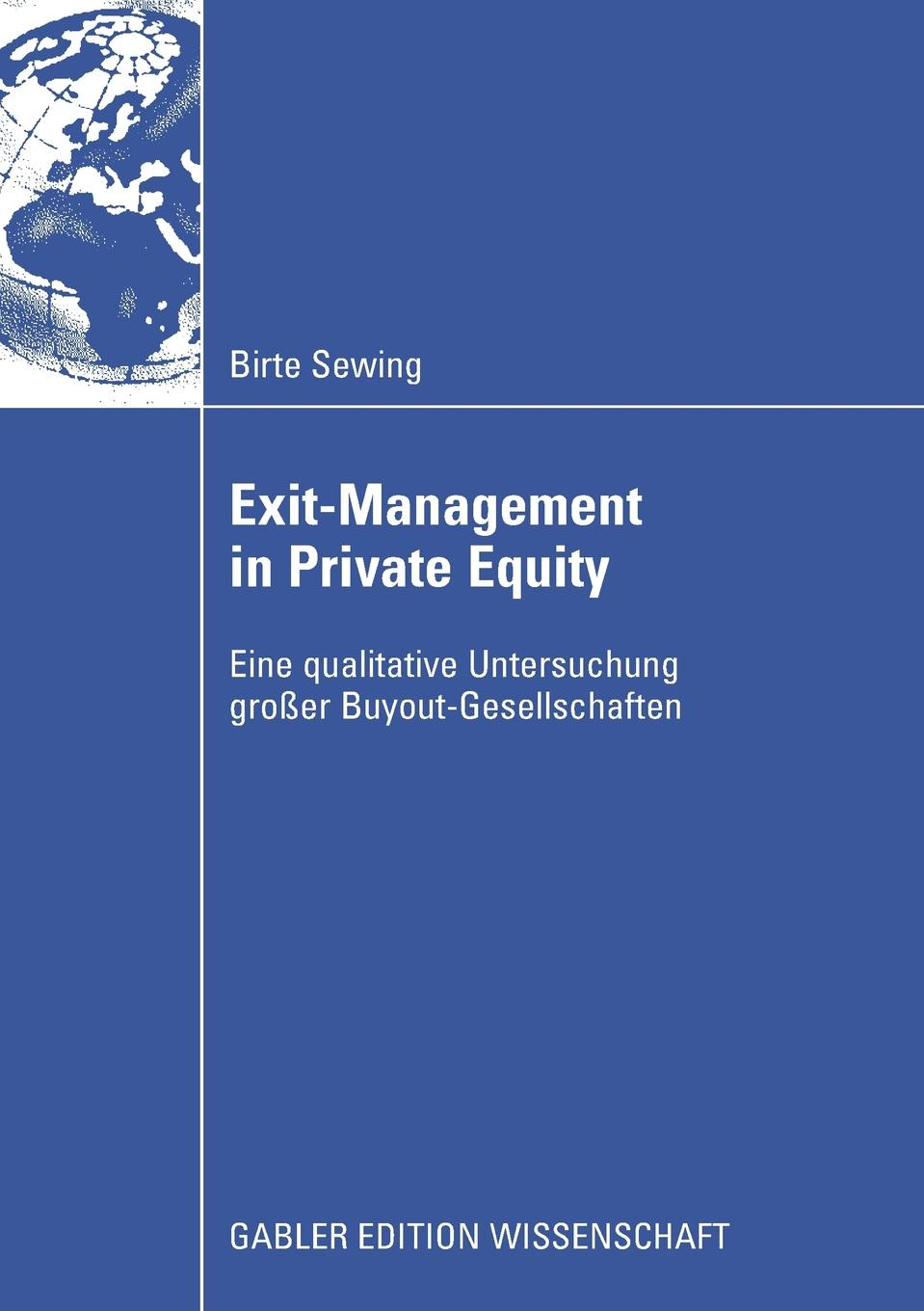 Birte Sewing Exit-Management in Private Equity