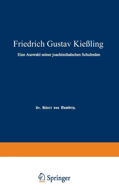 Albert von Bamberg Friedrich Gustav Kiessling