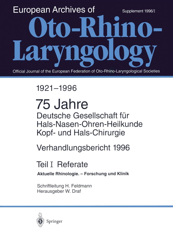 W. Draf Verhandlungsbericht 1996 der Deutschen Gesellschaft fur Hals-Nasen-Ohren-Heilkunde, Kopf- und Hals-Chirurgie magdalena george hals
