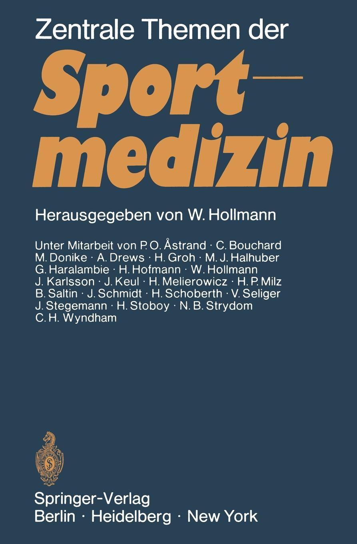 Wildor Hollmann Zentrale Themen der Sportmedizin цены