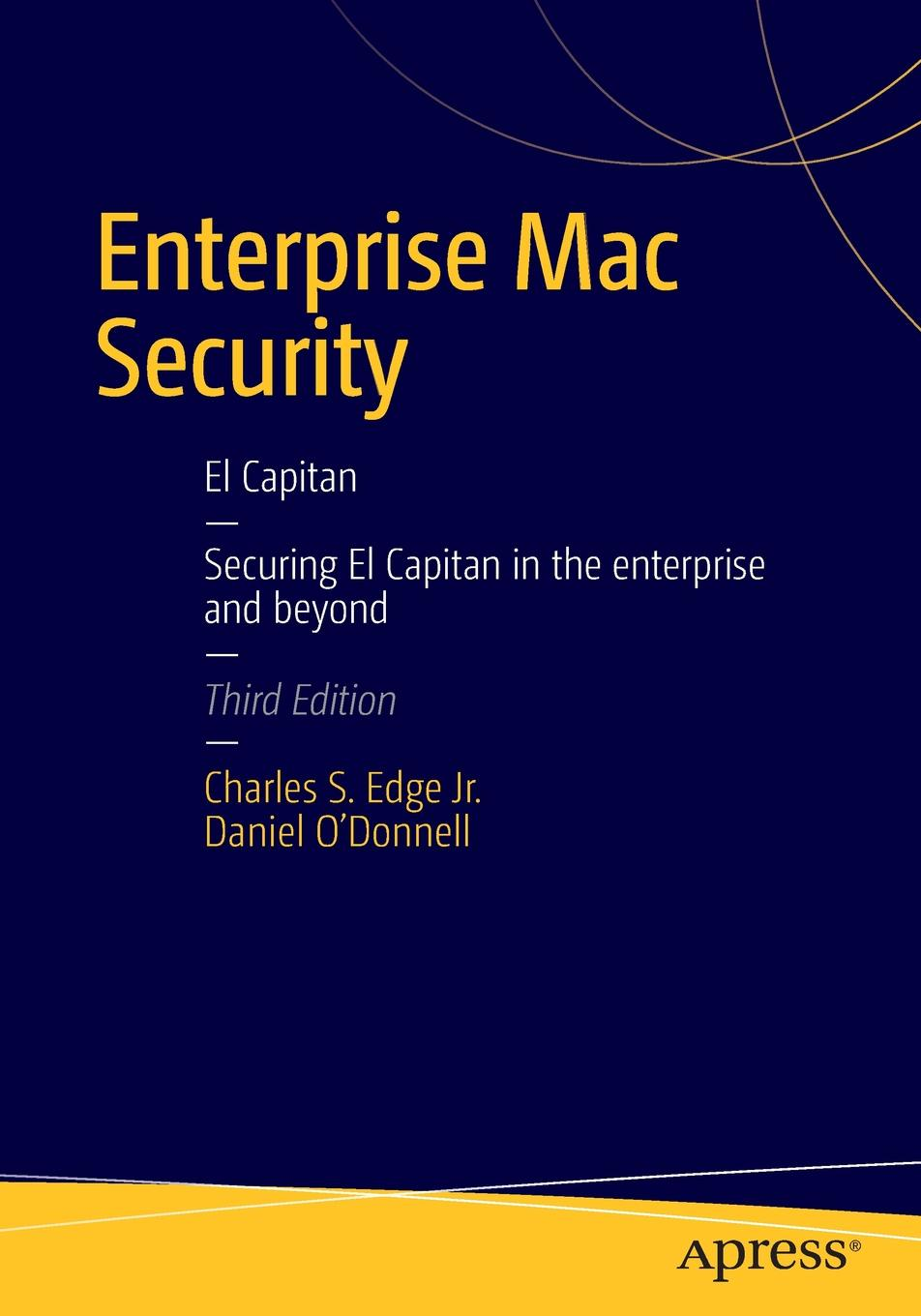 CHARLES EDGE, Daniel O'Donnell Enterprise Mac Security. Mac OS X mac shape