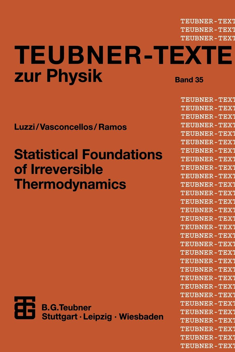 Statistical Foundations of Irreversible Thermodynamics statistical physics and thermodynamics