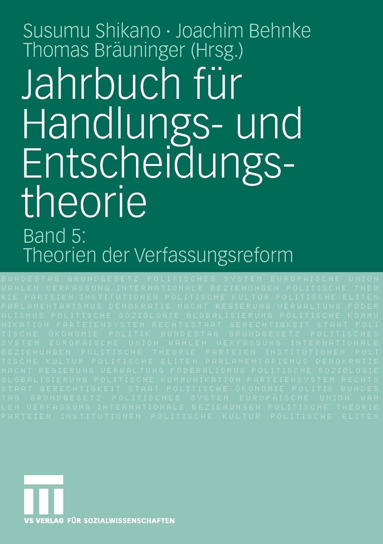 Jahrbuch fur Handlungs- und Entscheidungstheorie marie h eine schulerorientierte evaluation des handlungs und projektorientierten deutschliteraturunterrichts