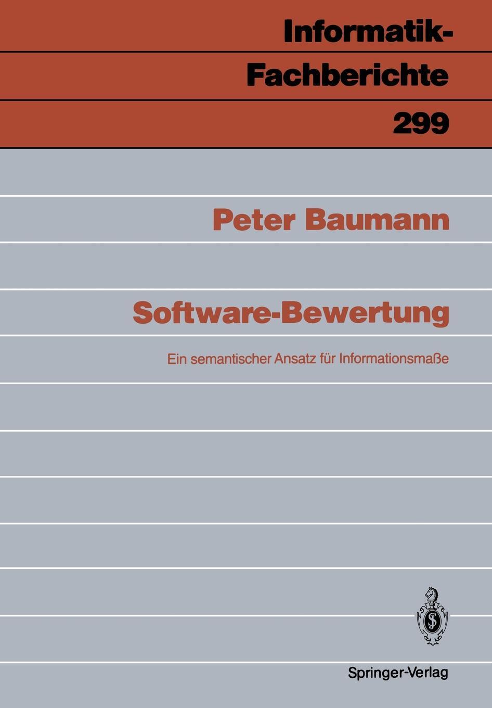 Peter Baumann Software-Bewertung peter baumann projecting the future