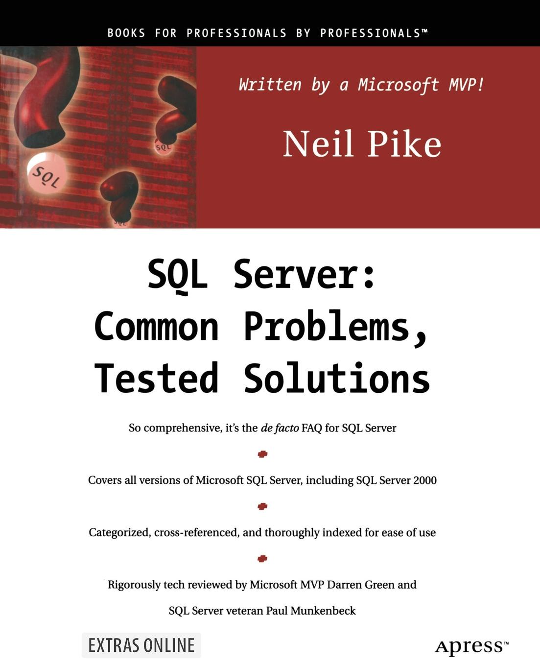 Brennan Pike SQL Server. Common Problems, Tested Solutions