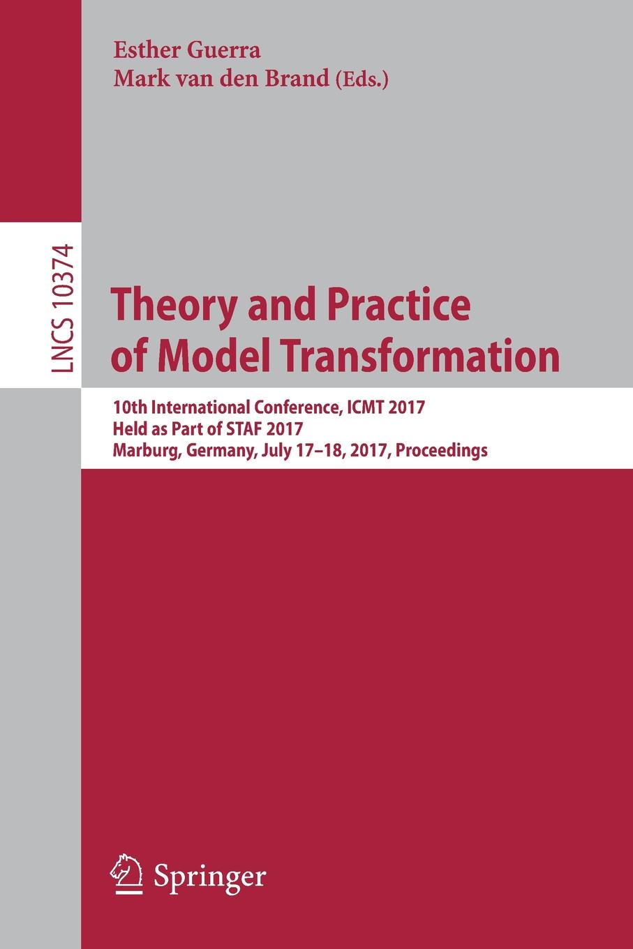 Theory and Practice of Model Transformation. 10th International Conference, ICMT 2017, Held as Part of STAF 2017, Marburg, Germany, July 17-18, 2017, Proceedings new and original h5cz l8e omron time relay 100 240vac