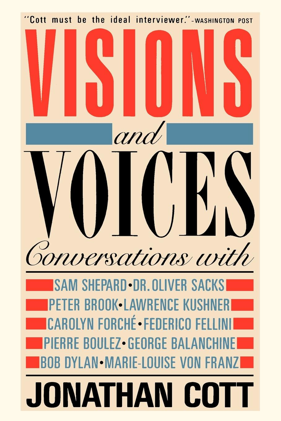 Jonathan Cott Visions and Voices maryann p diedwardo pennsylvania voices book two appaloosa visions