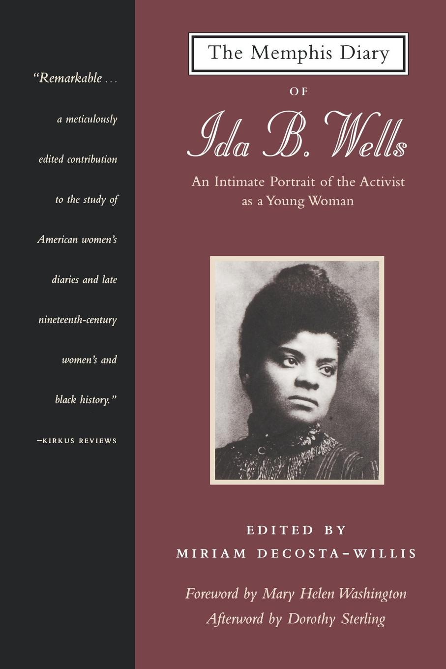 Ida B. Wells, Ida B. Wells-Barnett The Memphis Diary of Ida B. Wells ida b wells barnett the red record