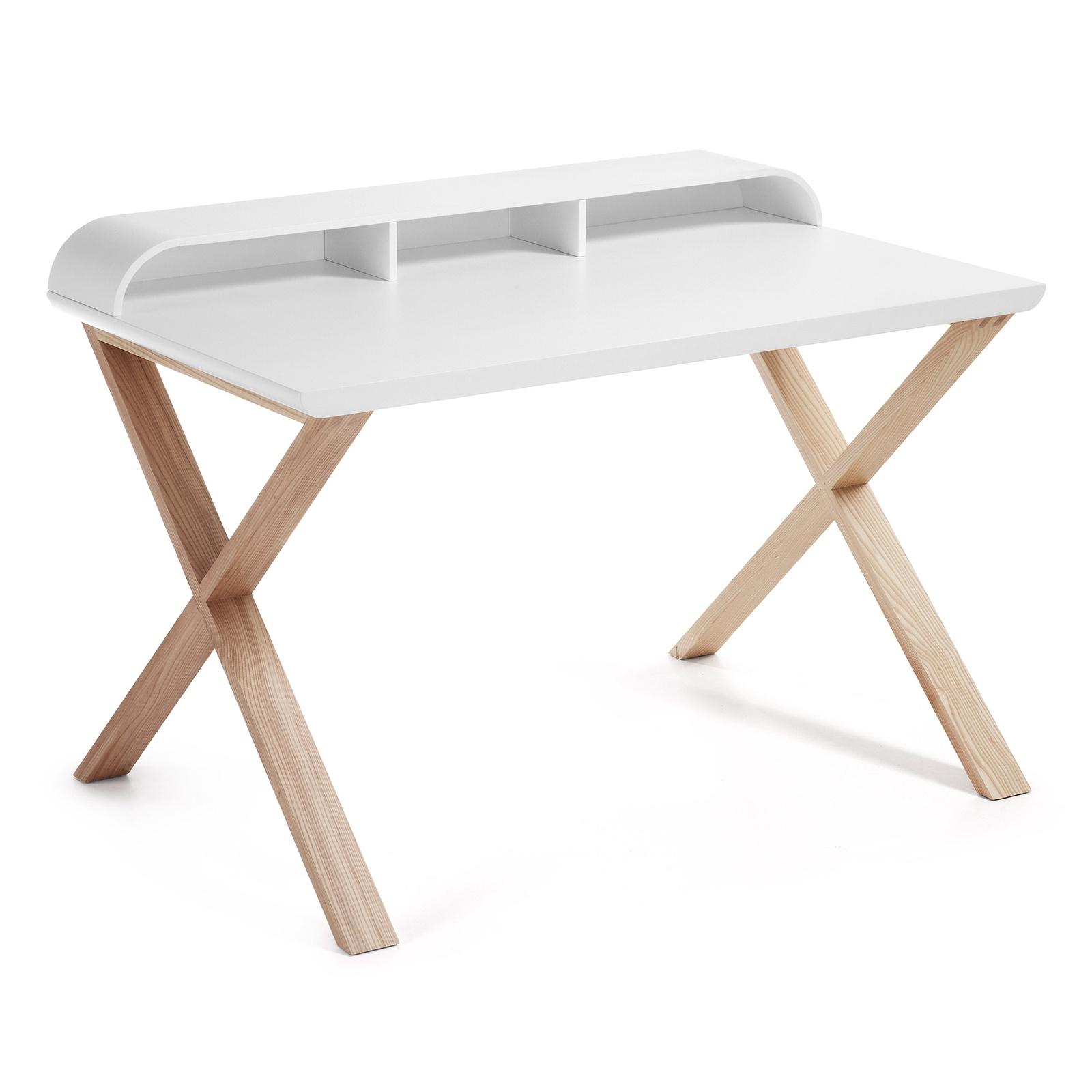 Письменный стол Success 120x79 матовый белый C285L05 Ш.120 В.85 Г.79 Вес 28.7кг; Материал Массив; Цвет Белый