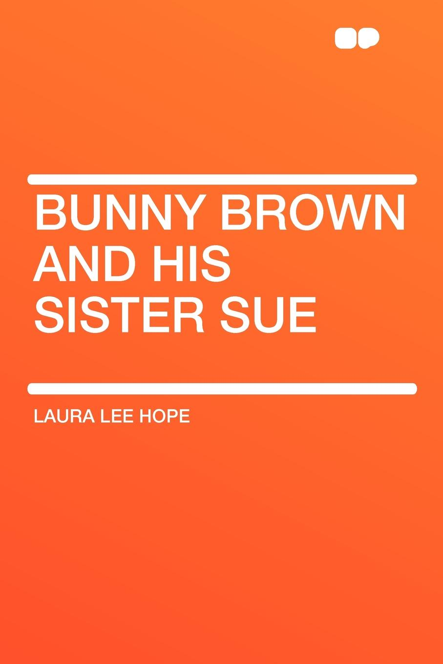Laura Lee Hope Bunny Brown and his Sister Sue laura elliot the lost sister