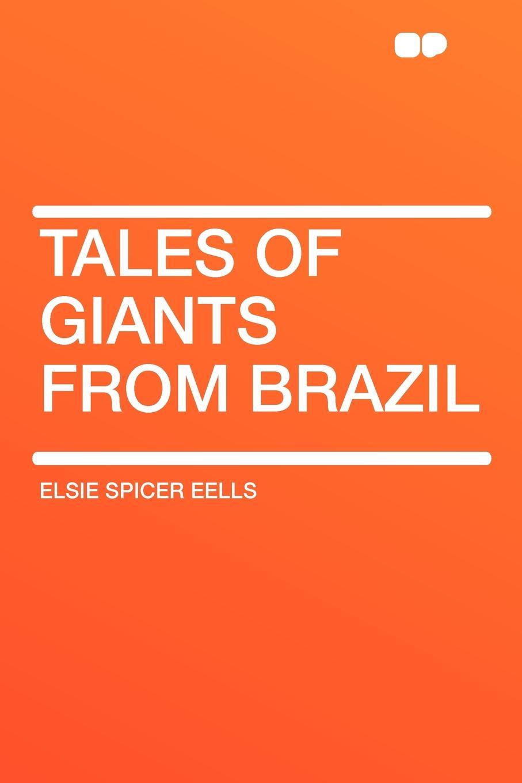 Elsie Spicer Eells Tales of Giants from Brazil novelty round neck brazil flag print asymmetrical dress for women