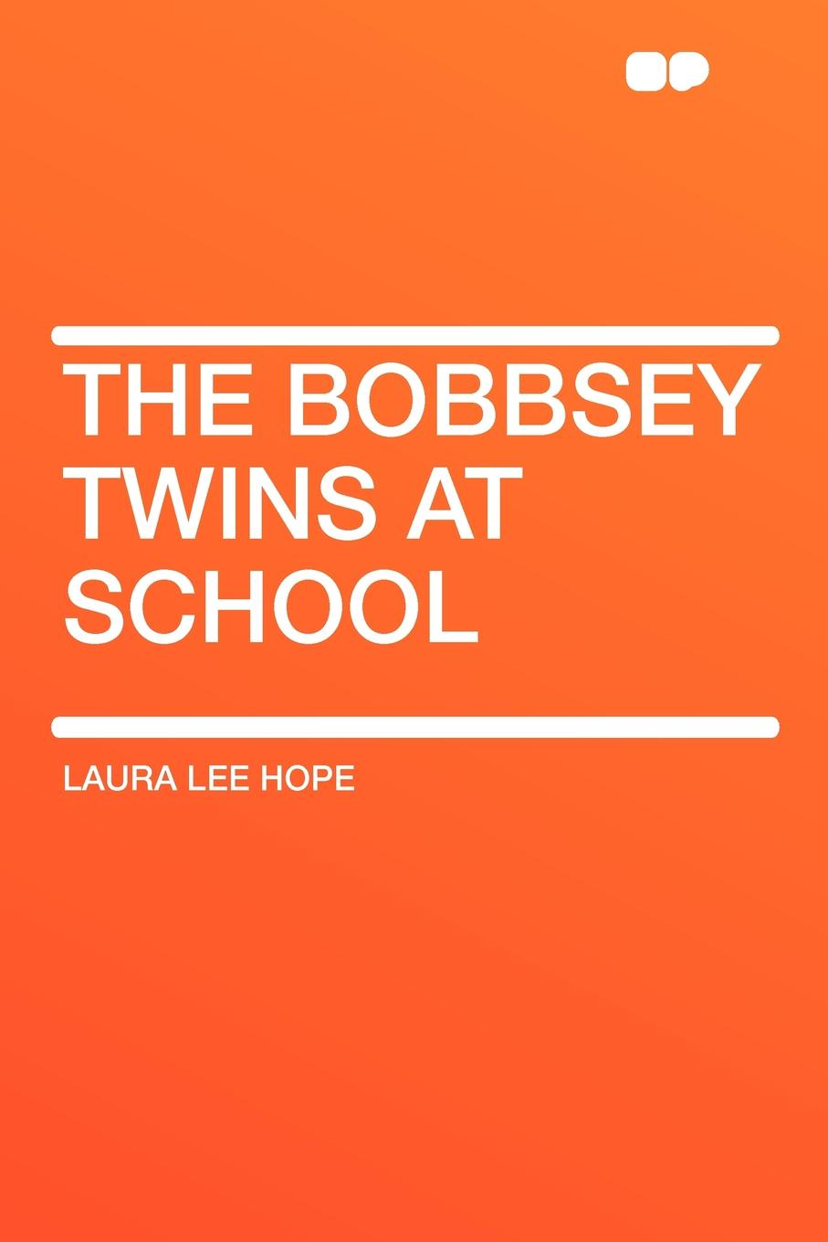 Laura Lee Hope The Bobbsey Twins at School elephant twins