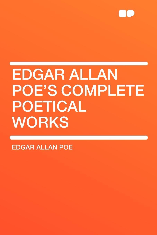 Эдгар По Edgar Allan Poe's Complete Poetical Works цена в Москве и Питере