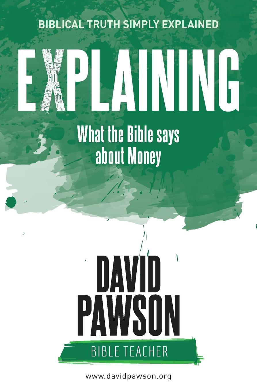 цены на David Pawson EXPLAINING What the Bible says about Money  в интернет-магазинах