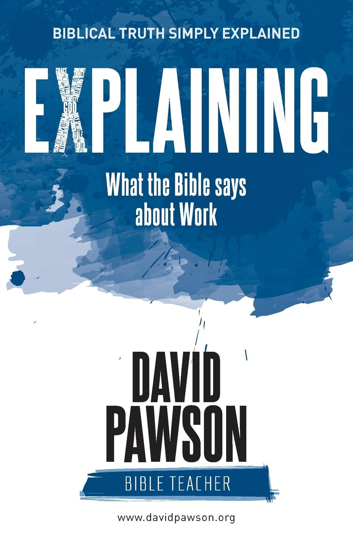 цены на David Pawson EXPLAINING What the Bible says about Work  в интернет-магазинах