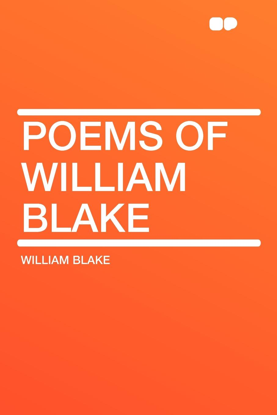 William Blake Poems of