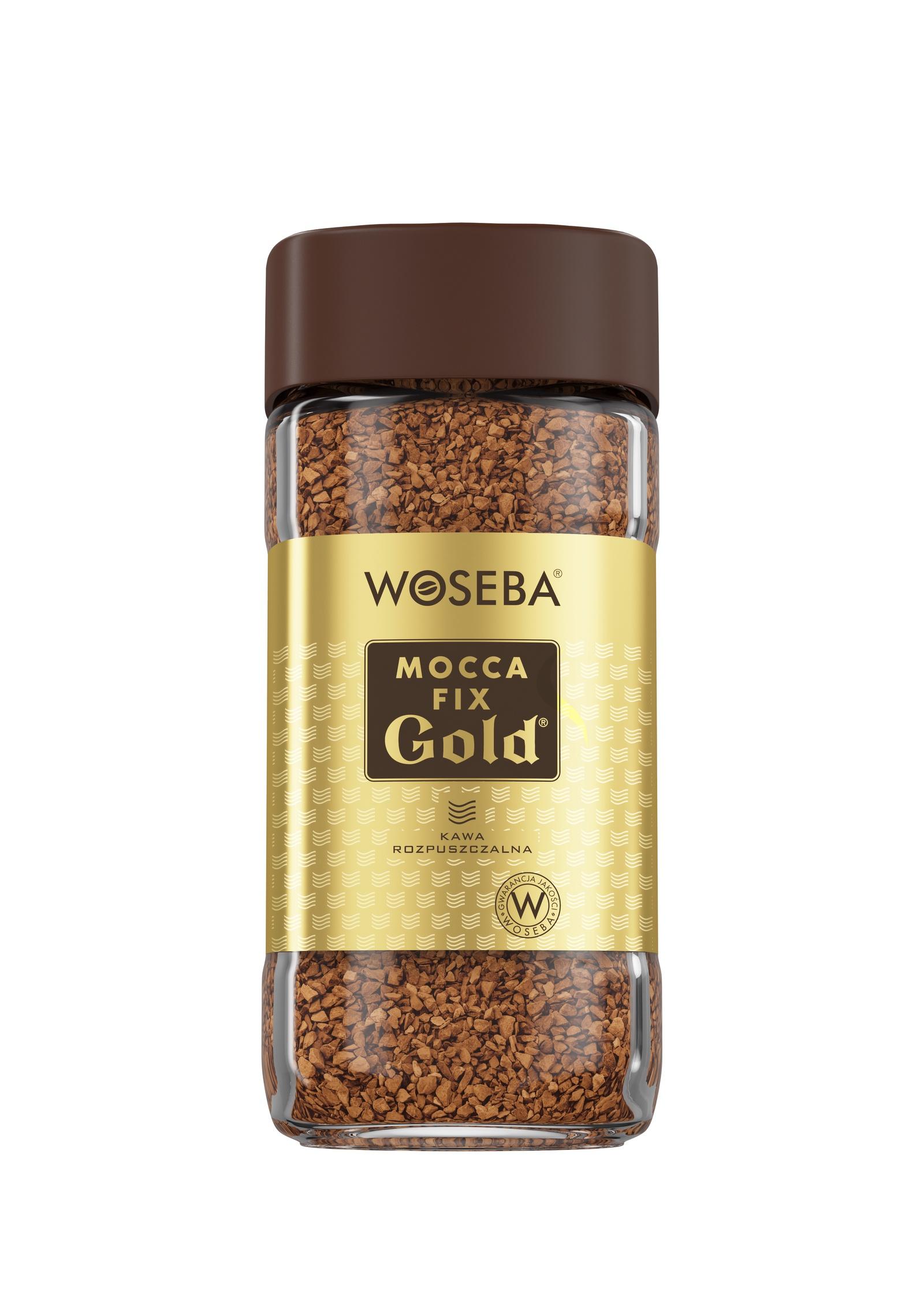 Кофе растворимый сублимированный Woseba Mocca fix Gold банка 100г. цены онлайн