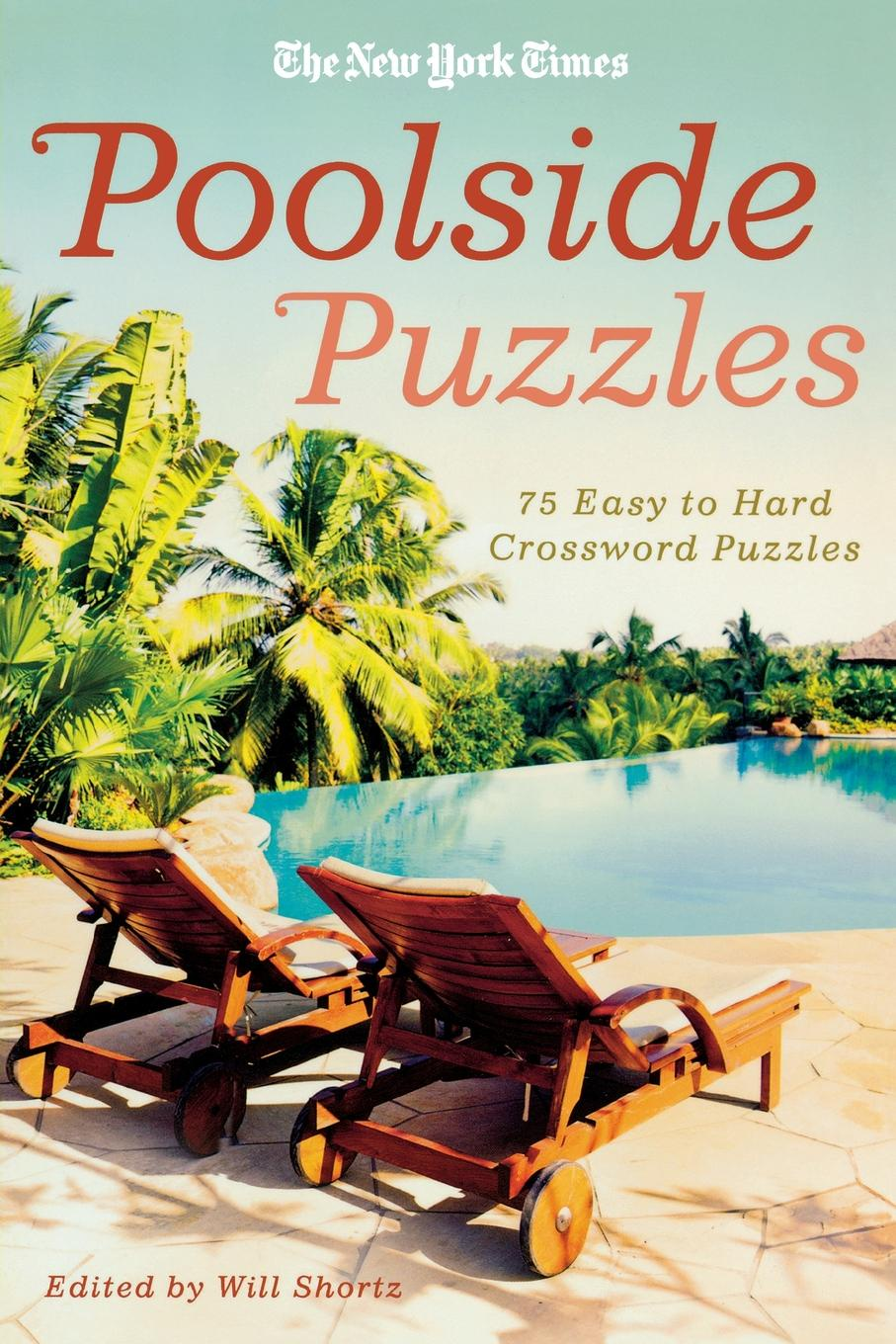 WILL SHORTZ NYT POOLSIDE PUZZLES паззл vintage puzzles