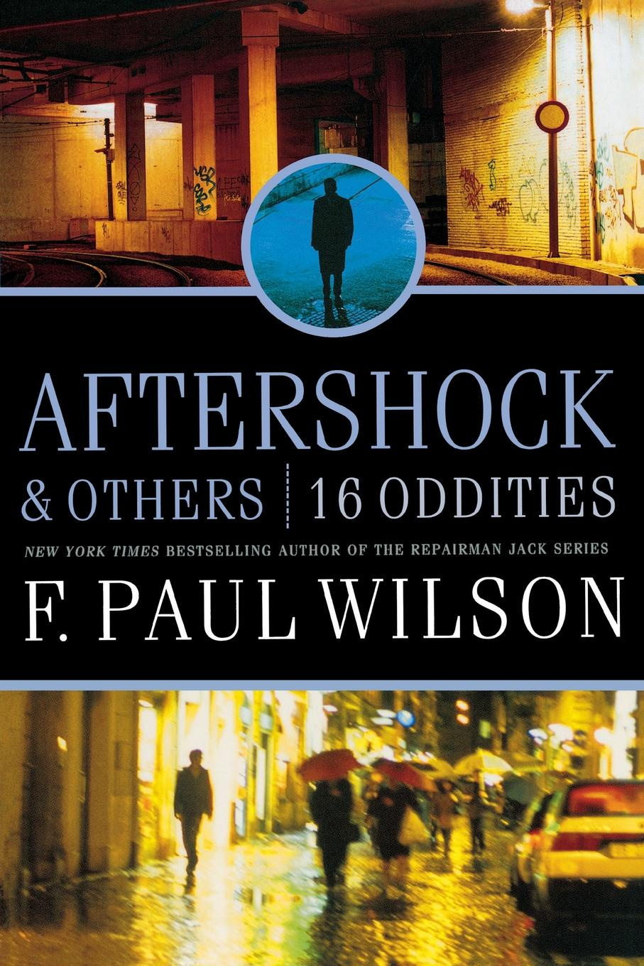F. PAUL WILSON AFTERSHOCK & OTHERS леггинсы aftershock