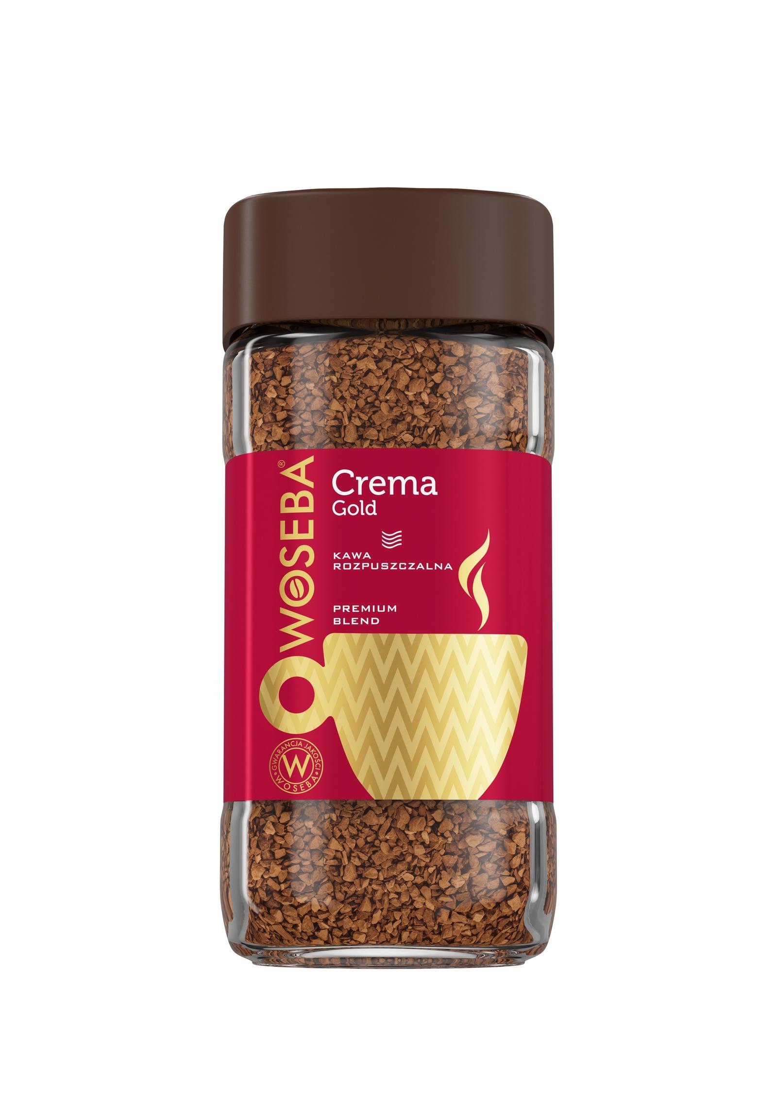 Кофе растворимый сублимированный Woseba Crema Gold банка 100г. цены онлайн