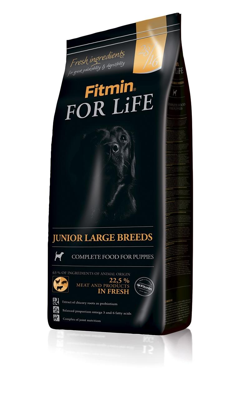 Fitmin dog For Life Junior large breeds корм д/щ кр. и гиг. пород 3кг