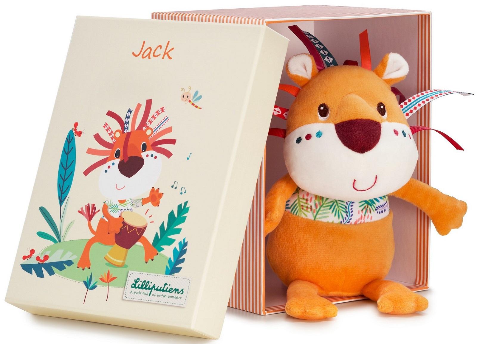 Мягкая игрушка Lilliputiens 83085 оранжевый