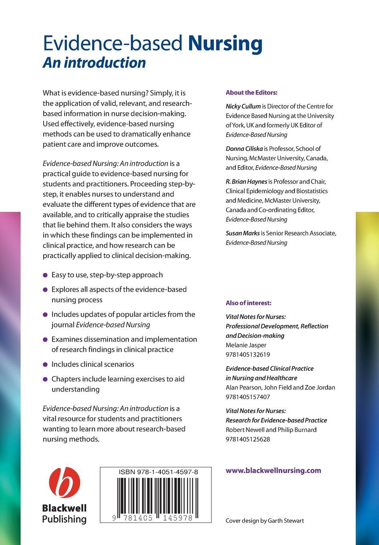 Cullum Evidence-based Nursing evidence based periodontology