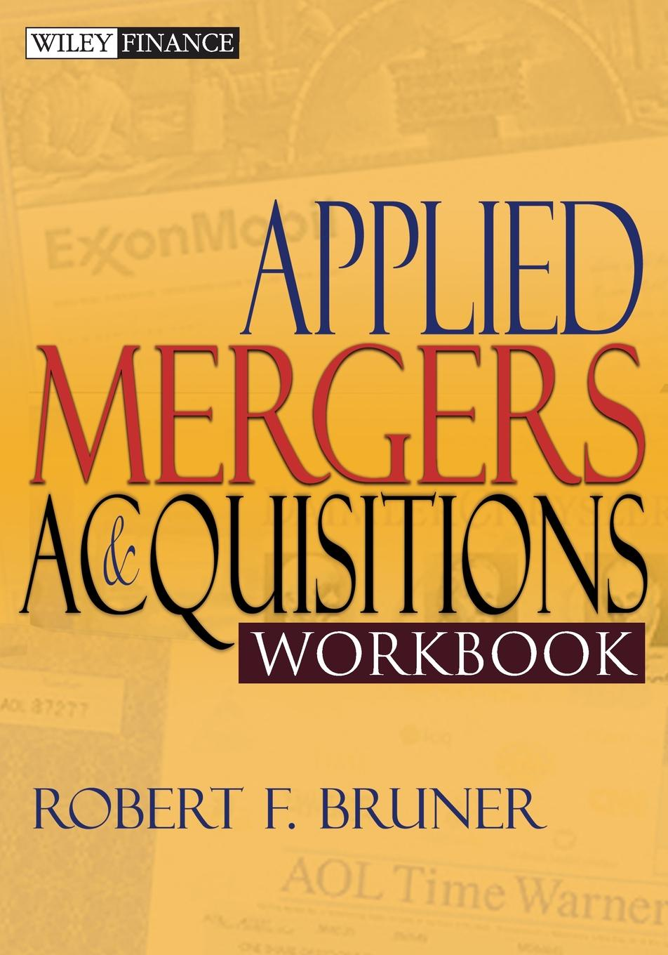 """Applied Mergers and Acquisitions Workbook Книга""""Applied Mergers and Acquisitions Workbook""""...."""