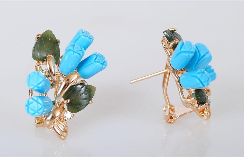 Серьги бижутерные Lotus jewelry, Lotus jewelry цена