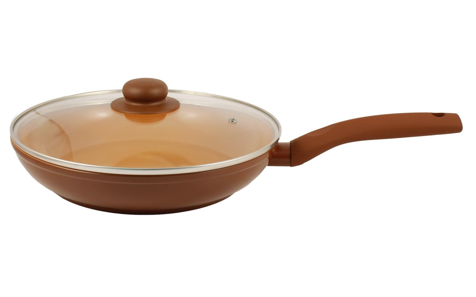 Сковорода с крышкой NaturePan Ceramic индукция 26см