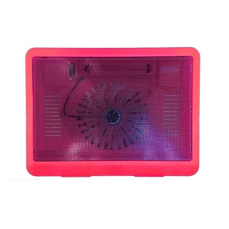 Подставка Lumobook под ноутбук, охлаждающая, 14-15.6 дюймов, красная, 33,5х22,5х2,9 см, красный ноутбук как использовать