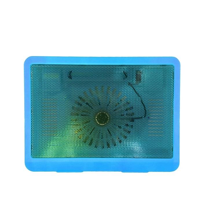 Подставка Lumobook под ноутбук, охлаждающая, 14-15.6 дюймов, голубая, 33,5х22,5х2,9 см, голубой ноутбук как использовать