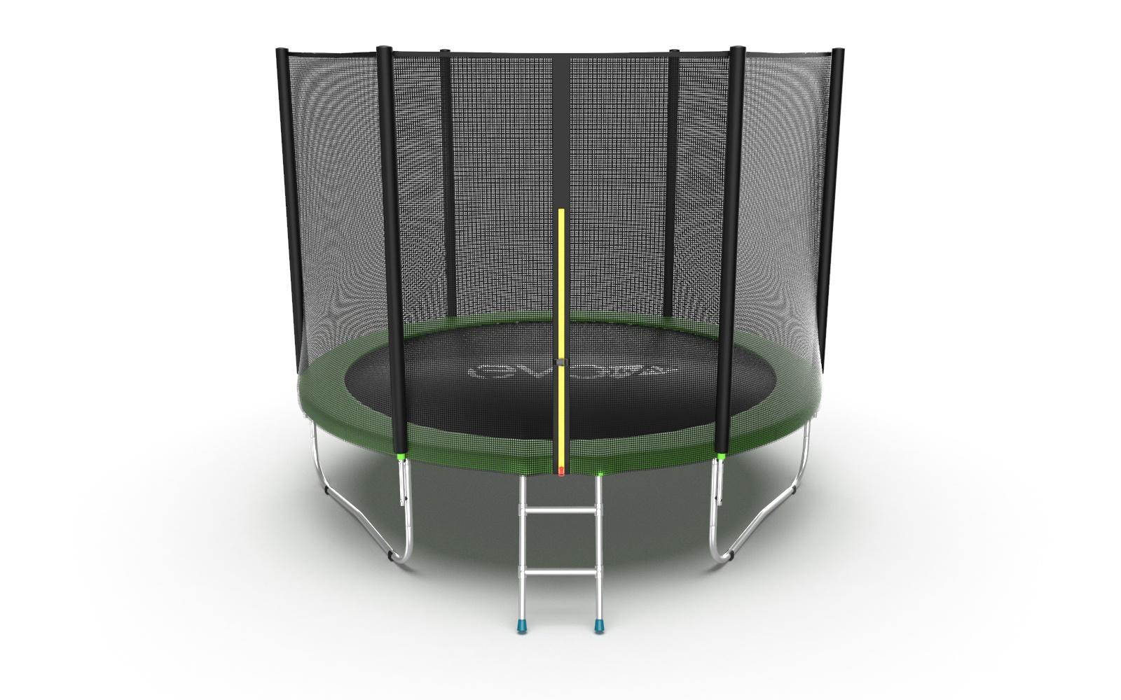 Батут EVO FITNESS Jump External 8ft (Green) цена в Москве и Питере