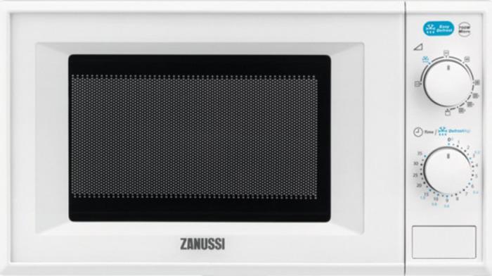 Микроволновая печь Zanussi ZFG20110WA, белый микроволновая печь supra 20tw16 20л 700вт белый