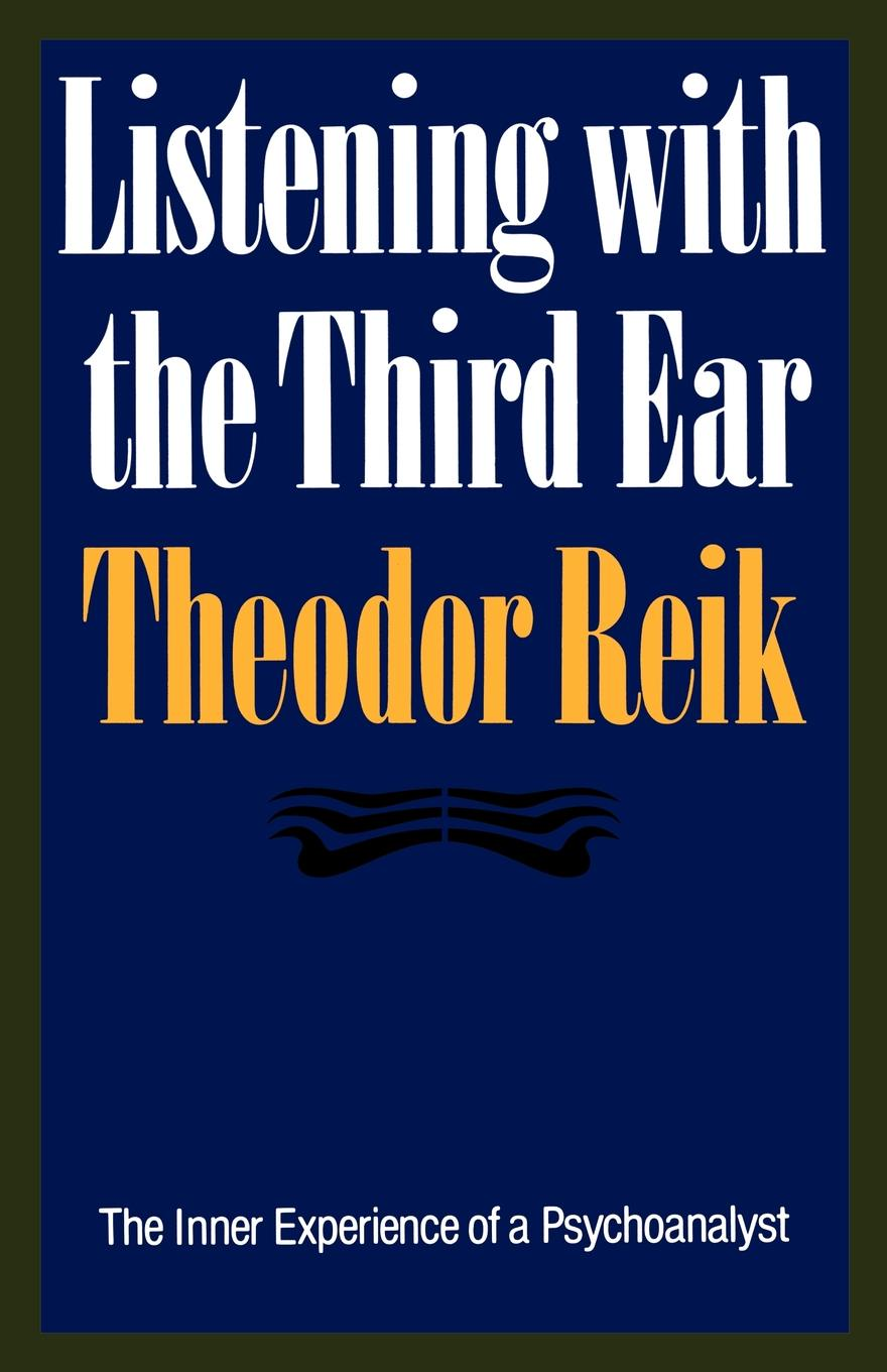 Theodor Reik Listening with the Third Ear double ear bowl with lid