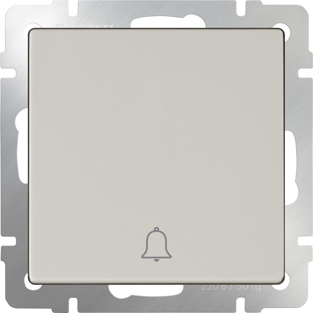 Звонковая кнопка Werkel (слоновая кость) WL03-04-01, слоновая кость