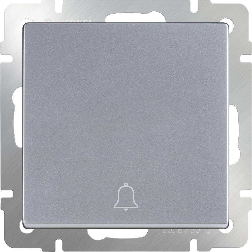 Звонковая кнопка Werkel (серебряный) WL06-04-01, серебристый