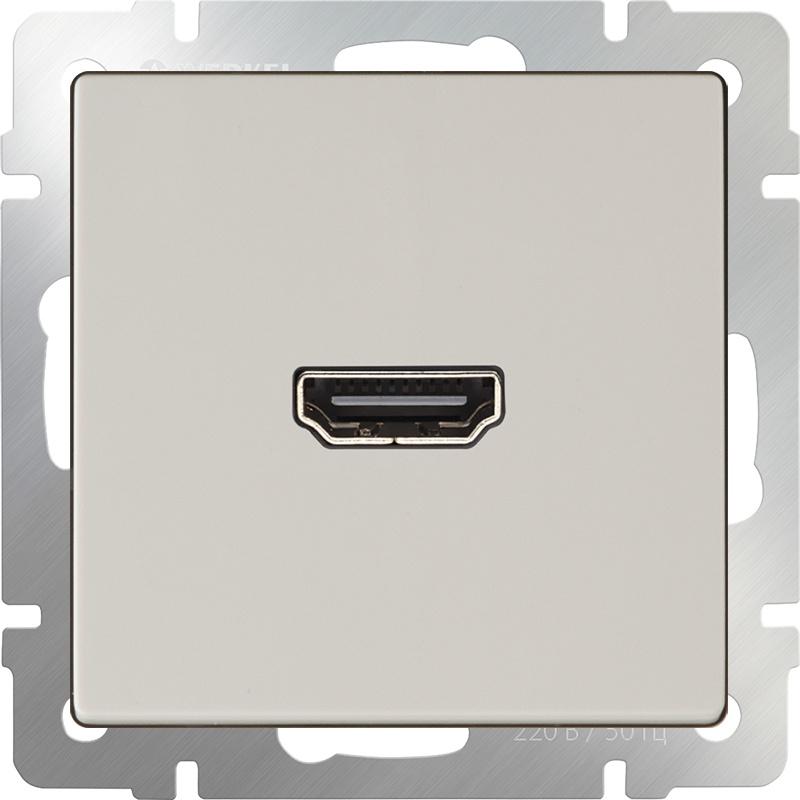 Розетка Werkel HDMI (слоновая кость) WL03-60-11, слоновая кость