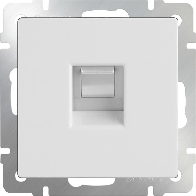 Розетка Werkel телефонная RJ-11 (белая) WL01-RJ-11, белый цены онлайн