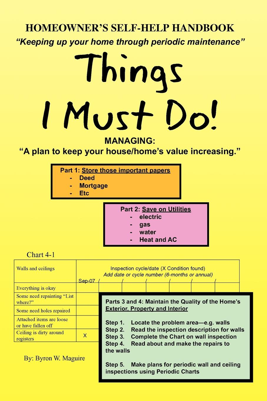 Byron W. Maguire Homeowner's Self-Help Handbook автокосметика maguire