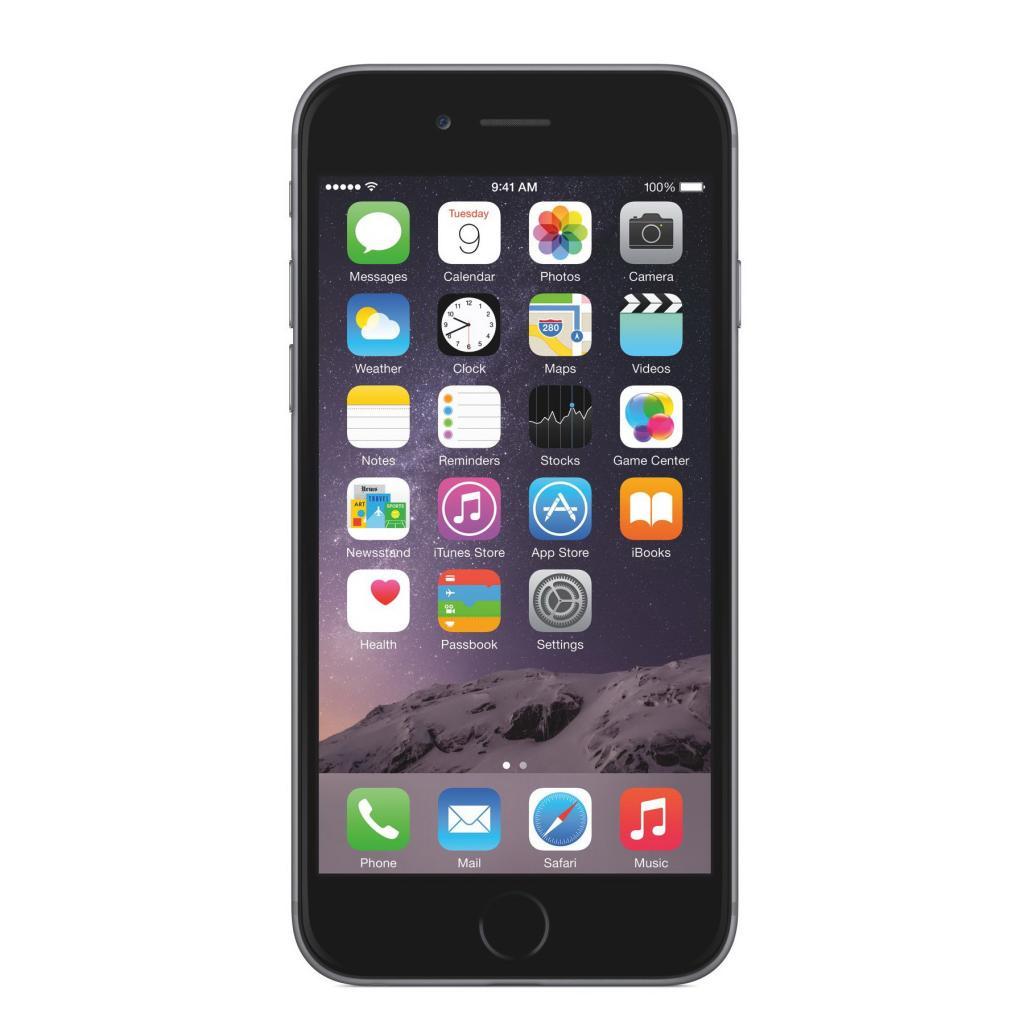 Смартфон Apple iPhone 6s Plus 128GB space gray