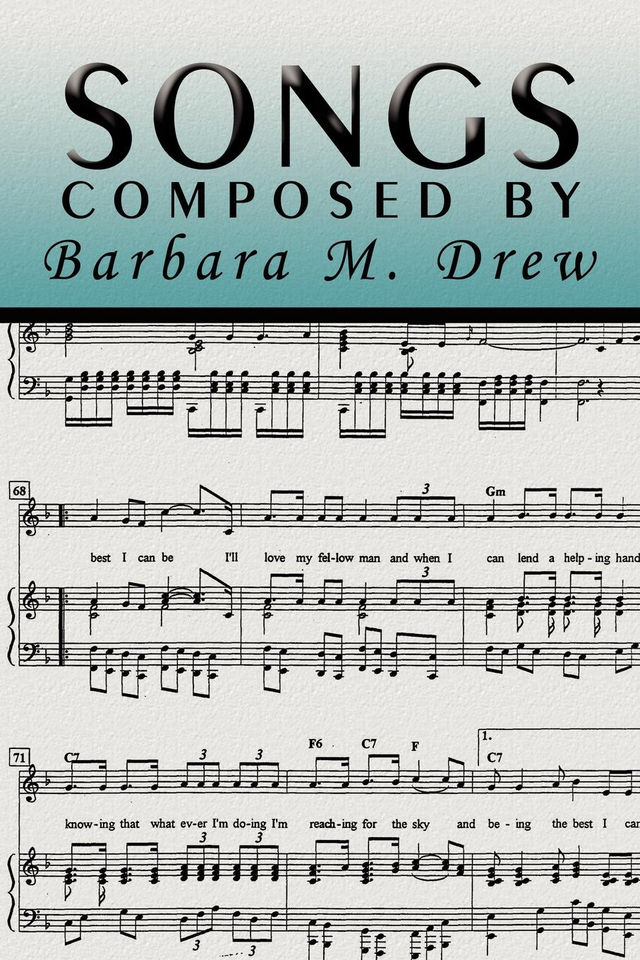 Barbara M. Drew Songs Composed by Barbara M. Drew area by barbara bologna куртка