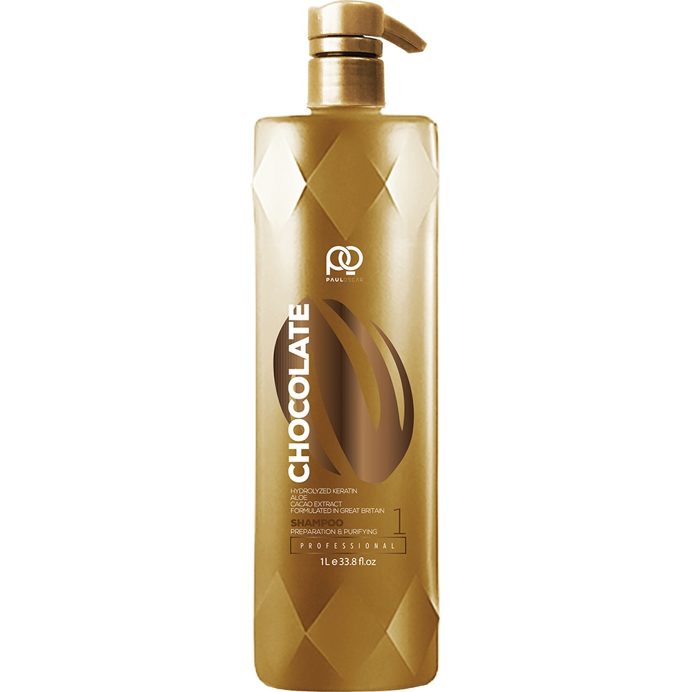 Шампунь для волос Paul Oscar Straight Preparation & Purifying Shampoo, step 1, 1000 мл недорого