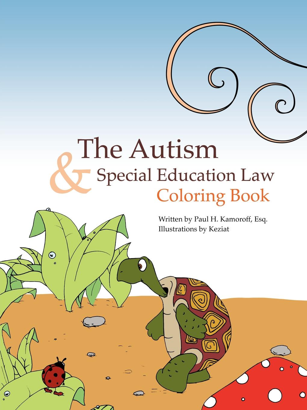 Paul H. Kamoroff Esq. The Autism & Special Education Law Coloring Book smale h sunny side up geek girl special book 2