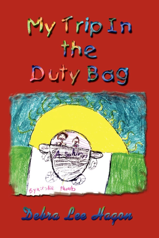 Debra Lee Hagon My Trip In the Duty Bag my super sparkly sticker bag