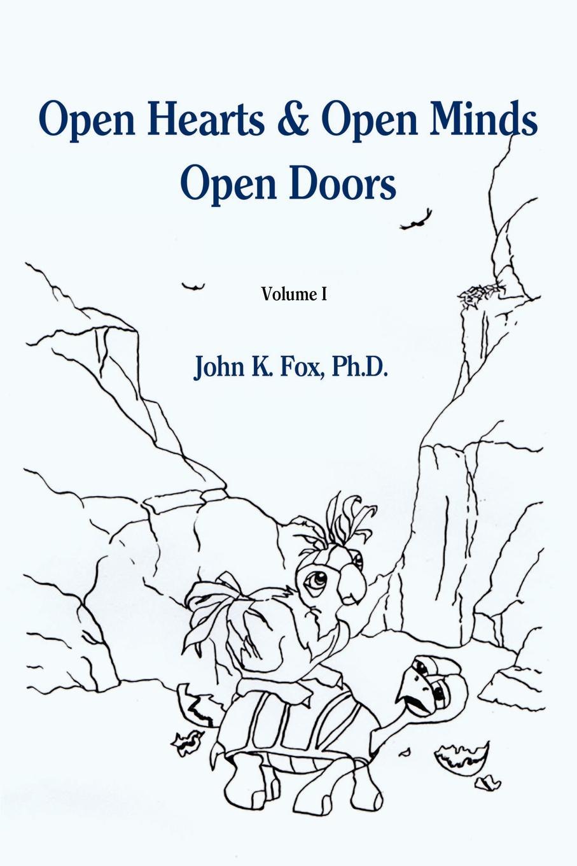 John K. Fox Open Hearts & Open Minds Open Doors. Volume 1 open shoulder tiered ruffle flowy dress