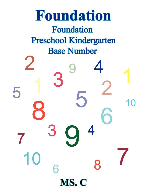 Ms. C, MS C. Foundation. Foundation Preschool Kindergarten Base Number цена в Москве и Питере