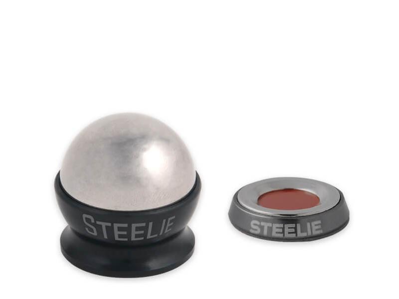 Держатель для телефона NiteIze Магнитный Nite Ize Steelie Car Mount Kit, черный универсальный автомобильный держатель nite ize steelie vent mount kit