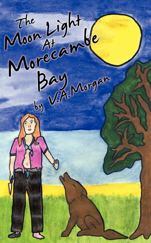 V. A. Morgan The Moon Light at Morecambe Bay at full moon 2